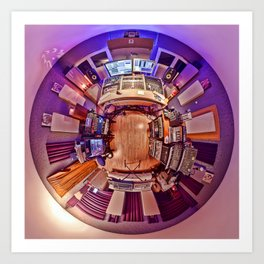 Robert Babicz : Studio 360 [colour] Art Print