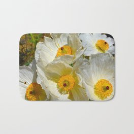 Mexican Poppies Bath Mat