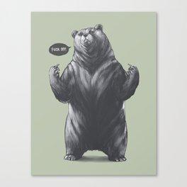 Fubear Canvas Print