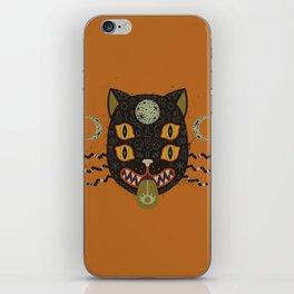 Spooky Cat iPhone Skin