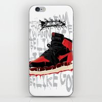verse iPhone & iPod Skins featuring SOLE Search verse 1 by martymar54