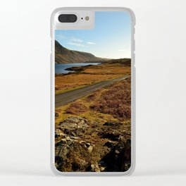 wastwater lake Clear iPhone Case