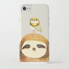 Sloth and Owl. iPhone 7 Slim Case