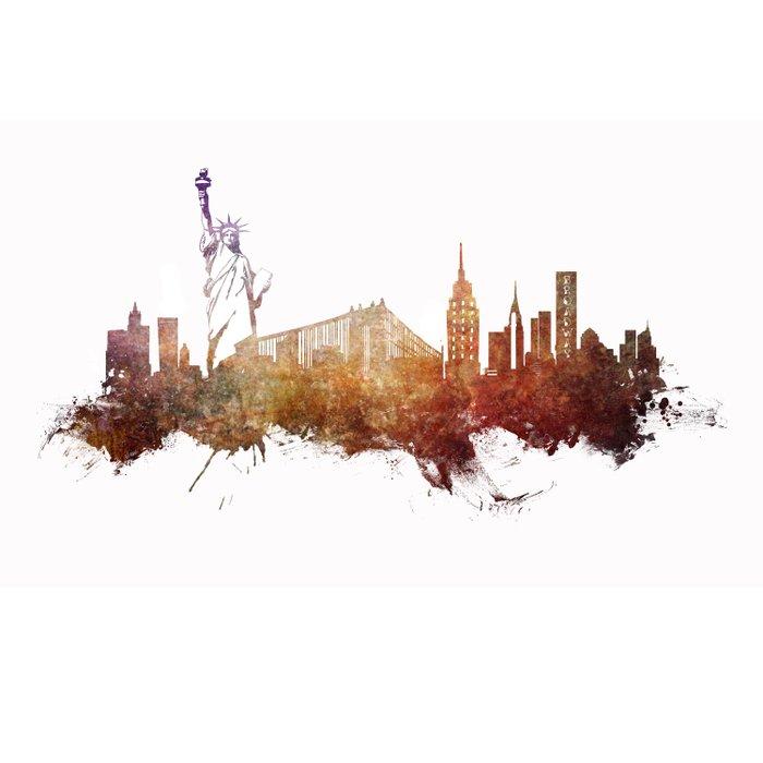 New York City - skyline Duvet Cover