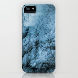 Storm Abstract | Sea | Waves | Ocean | Blue Art | Beauty | Nature Painting iPhone Case