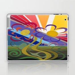 Flower Horizon Laptop & iPad Skin