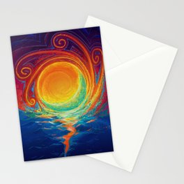 Sun Moon & Stars Stationery Cards