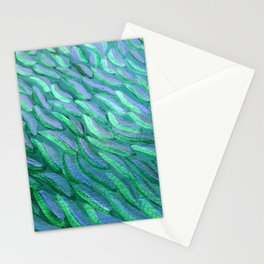 PECES AZULES BRILLANTES Stationery Cards