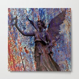 Pending Victory Goddess Victoria Metal Print