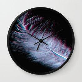 Featherwork Wall Clock