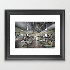 medical train Framed Art Print