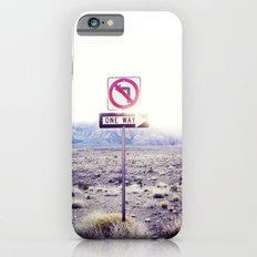 One Way to nowhere iPhone 6s Slim Case