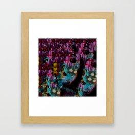 Within This Beautiful Machine: Betrayal Framed Art Print