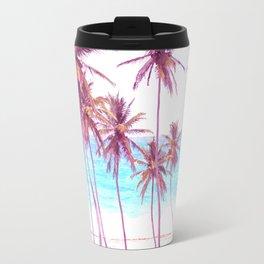 Palm Beach Illustration Travel Mug