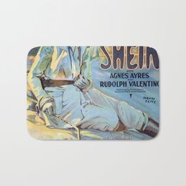 Vintage poster - The Sheik Bath Mat