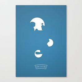 P....E Canvas Print