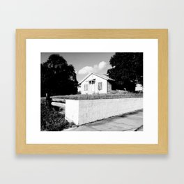 No One Home Framed Art Print
