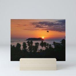 Costa Rican Sunset Mini Art Print
