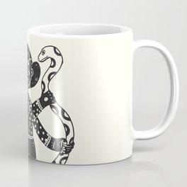 the girl and the snake Coffee Mug