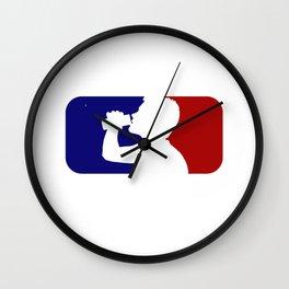 MLD Major League Drinking Wall Clock