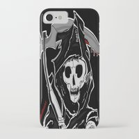 sons of anarchy iPhone & iPod Cases featuring Sons Of Anarchy (Reaper) by ItalianRicanArt