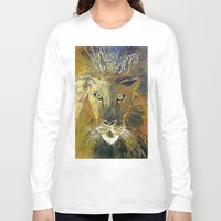courage Long Sleeve T-shirts featuring Courage by Anna Hanse