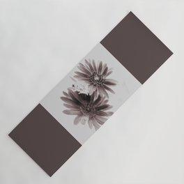 Daisies sepia infrared Yoga Mat