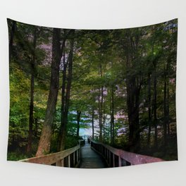 Bridge to Paradise Wall Tapestry