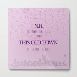 this town niall horan Metal Print