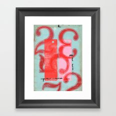 Two Hundred and Thirty-Five Framed Art Print