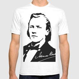 Johannes Brahms (1833 – 1897) in 1853 (2) T-shirt