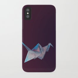Origami-UniverseBird iPhone Case
