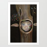 tree of life Art Prints featuring Tree Life by Fizzyjinks