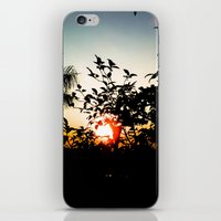 sunset iPhone & iPod Skins featuring Sunset by Mauricio Santana