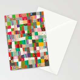 Poster Background | Patchwork Multicolor Stationery Cards