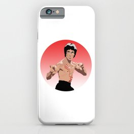 """Bruce """"The Dragon"""" Lee iPhone Case"""