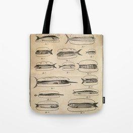 Fishers' menu Tote Bag