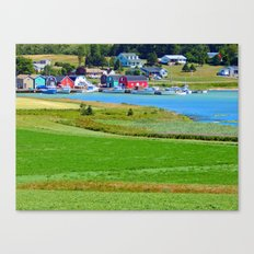 French River Harbour Canvas Print