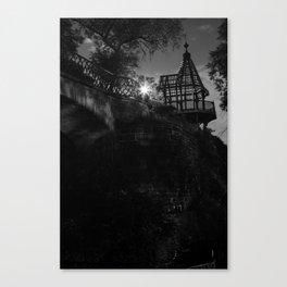 Explore by Moonlight Canvas Print