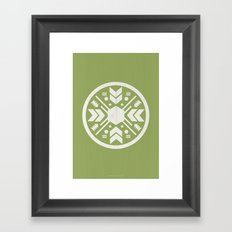 Aztec No. 1 Framed Art Print