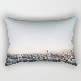 Florence Skyline Rectangular Pillow