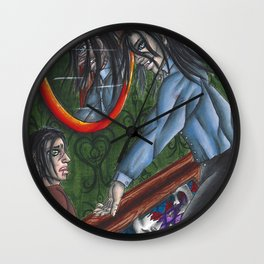 Distorted Wall Clock