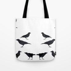 kargalar (crows) Tote Bag