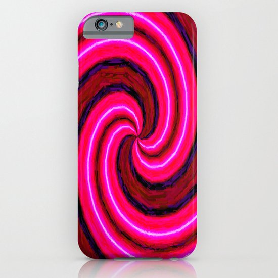 Abstract Pink Modern iPhone & iPod Case