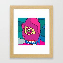 wahed mn el horas Framed Art Print