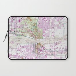Vintage Map of Tempe Arizona (1952) Laptop Sleeve