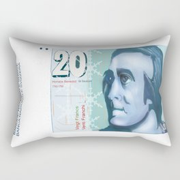 20 Old Swiss note Rectangular Pillow