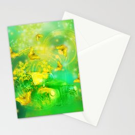 Dream wreck with butterflies Stationery Cards