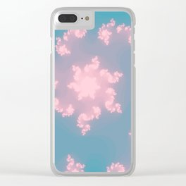 Summer Skies Of Love Clear iPhone Case