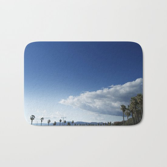 Cloud Ship Bath Mat